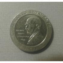 Moneda 200 Pesetas 1997 España, J. Benavente. Conmemorativa