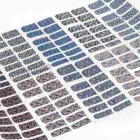 70 Adesivos De Unha Inteira Unhas Decoradas Películas P/unha