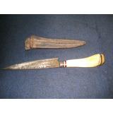 Cuchillo Puñal Muy Antiguo Seguramente Solingen