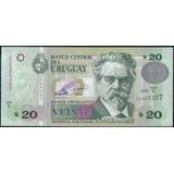 Uruguay 20 Pesos 2008 P86a Serie E