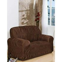 Capa Para Sofa 2 Lugares 21 Elasticos - Nanda Enxovais