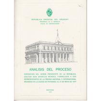 Dictadura Uruguay 1977 Aparicio Mendez Analisis Del Proceso