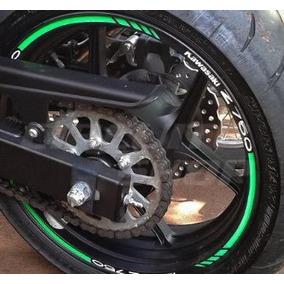 Friso Adesivo Refletivo Roda Moto Rec2 Ninja Kawasaki Z 750