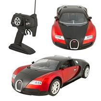 Control Remoto Rc Bugatti 110 Velocidad Rápida Auténtico De