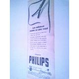 Antigua Publicidad Lamparas Philips - Iluminacion