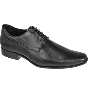 Sapato Silverado Couro De Carneiro Cor Preto - 100% Couro