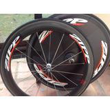 Ruedas Zipp 606 Ciclismo Carbono