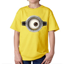 Playera Camiseta Minion Ojo Mi Villano Favorito 1 O 2