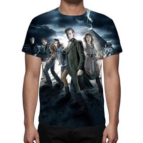 8748084d8 Camiseta Série Doctor Who Azul Marinho Tamanho P M G - Camisetas em ...