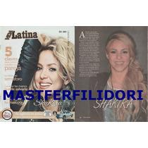 Shakira Revista Vida Latina Usa Noviembre 2014