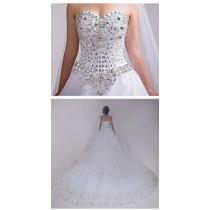 Vestido Noiva Princesa Iluminado ,.. Pronta Entrega