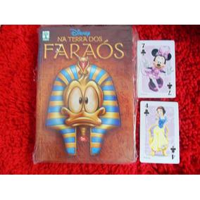 Disney Na Terra Dos Faraós,300 Páginas, Temático + Brinde