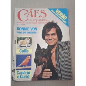 Cães E Companhia N°8 Jan. 80 Ronnie Von + Collie E Canário