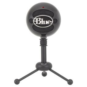 Microfone Condensador Usb Blue Snowball Preto