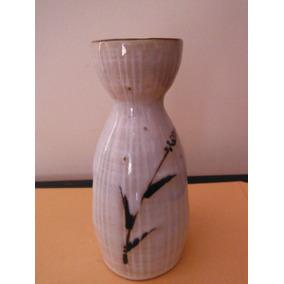 Botella Para Sake Oriental Bambu Negro Cantina Restaurante