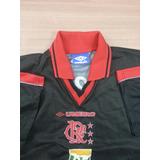 Camisa Flamengo Antiga Original Umbro Impecável Romário-1016