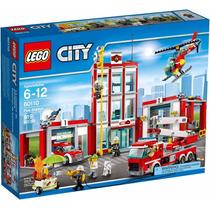 Lego 60110 Cidade Quartel Dos Bombeiros Original