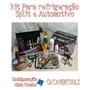Kit Refrigeração Ferramentas - Grátis Lata De Gás 134a