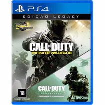 Call Of Duty Infinite Warfare Ediçao Legacy Ps4 Promoçao