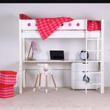 Camarotes C/cama Alta+escritorio+ Escalera,