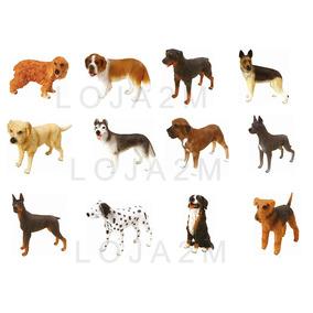 Coleção Completa Miniaturas Cães De Raça