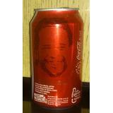 Lata Coca Cola Brasil Tiao Santos Conmemorativa