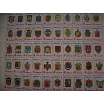 Timbres Postales Contra La Tuberculosis 1966 Escudos Estados