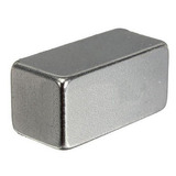 Super Ímã Neodímio 20 X 10 X 10 Mm 01 Pç Suporta 7,5 Kg