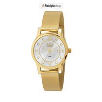 Relógio Dourado Feminino Dumont Du2115av/4k - Lançamento.