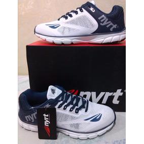 Zapatos Nyrt Modelo 2015 100% Originales Azul Con Blanco