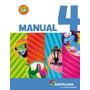 Lote X 3 Libros Manual 4 5 Y 6 En Movimiento Santillana