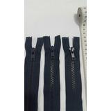 Cierre Plastico Separable Azul Marino De 40cm