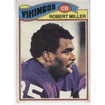 1977 Topps Mexican Robert Miller Vikingos De Minnesota
