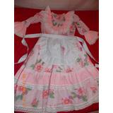 Vestido De Niña Talla10 Para Folclor