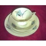 Juego Te Thomas Ivory Bavaria Art Deco Sellado Numerado-308b