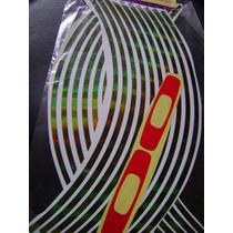 Adesivo Refletivo Para Rodas Colorido