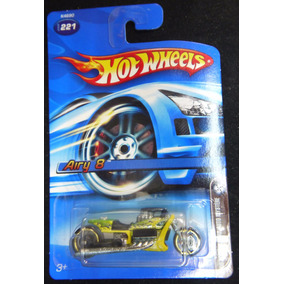 Hot Wheels 2006 Mystery Car #221 Moto Airy 8 - Argentvs
