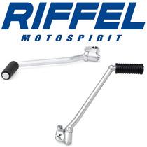 Pedal De Partida Moto Riffel Cg 125 Titan/fan 2000 Em Diante