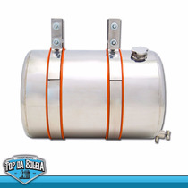 Barrica Cotote De Água Em Aço Inox 30 Litros Completo