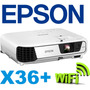 Proyector Epson X36+ 3600 Lum + Dongle Wifi 12 Cuotas S/int