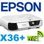 Proyector Epson X36+ 3600 Lum +wifi 12 Cuotas S/int En Local