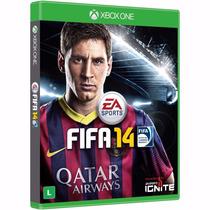 Jogo Original Xbox One Fifa 14 Lacrado Mídia Física Easports