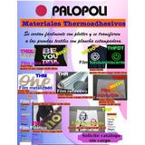 Vinilo Termotransferible Thp -12 Colores Palopoli Ancho 50cm