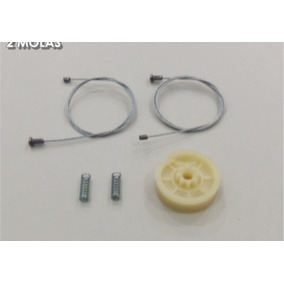 Kit Reparo Máquina Vidro Eletrico Traseira Citroen C3 2 Mola