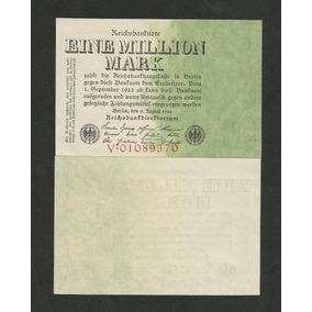 Alemanha 1 Milhão Marcos 1923 P. 101 Fe Cédula - Tchequito