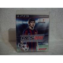 Jogo Ps3 Pes 2010- Original