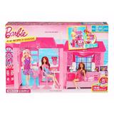 Nova Casa Palácio Rosa Da Boneca Barbie Importado E Unico