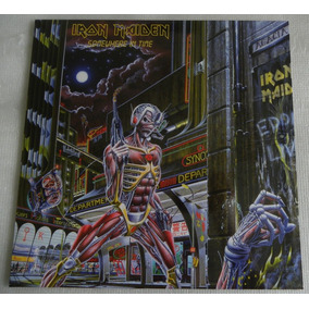 Iron Maiden Somewhere In Time Lp Vinil Made In England 2014