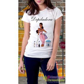 Camisetas Personalizadas Profissões Depiladora