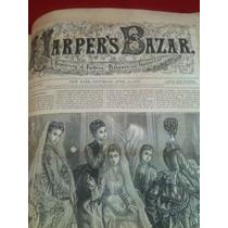 Libros Antiguos-harpers Bazar- 1874